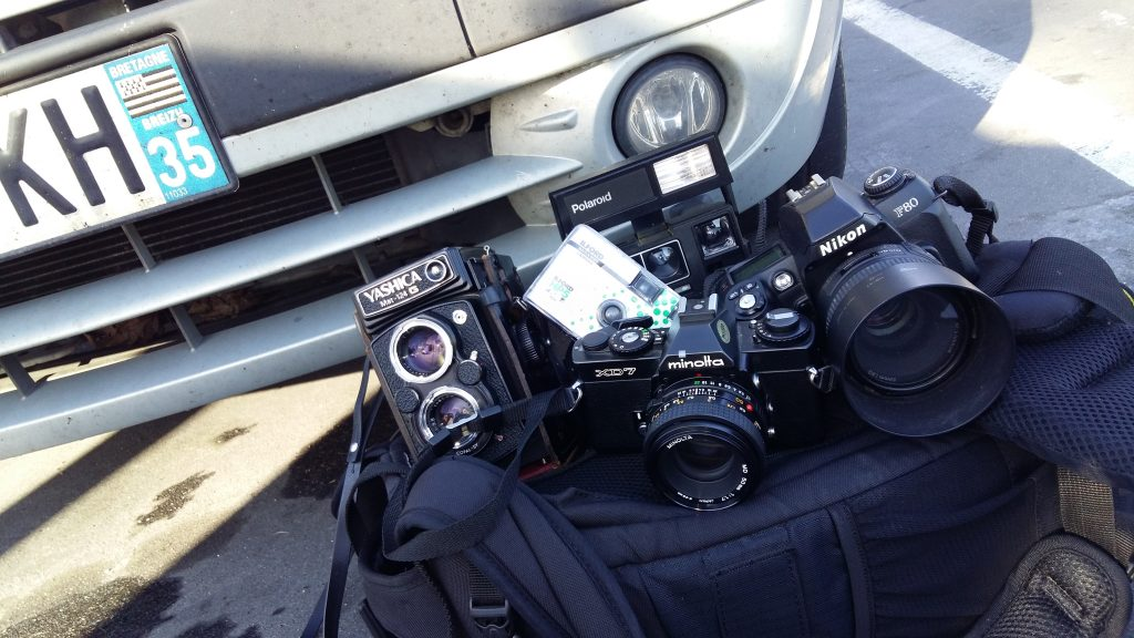 appareils, road trip, Nico M Photographe